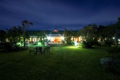 Dune Ridge Country House, St Francis Bay at night