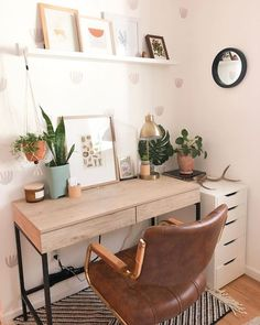 Bohemian Office - Each of us has different needs and material . - Bohemian Office – Each of us has different needs and material options, but different tastes and ho - Home Office Bedroom, Home Office Design, Home Office Decor, Bedroom Decor, Home Decor, Bedroom Ideas, Design Bedroom, Modern Bedroom, At Home Office Ideas