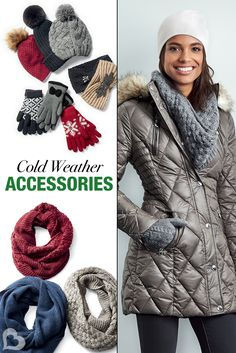 bdbbb5ce973a Cold weather is creeping in! Keep chic this winter in these stylishly warm  accessories. Add a pop of color to a neutral coat to really step up your  style ...