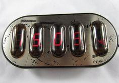 PIANO DIGIT NIXIE CLOCK TUBE DISPLAY
