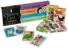 1950s kids card games - Google Search