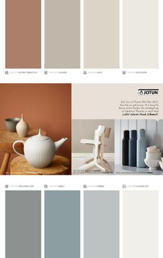 Issuu Jotun Lady Supreme Finish Pure Color By Jotun Dekorativ As Room Paint Colors, Paint Colors For Home, Wall Colors, House Colors, Colorful Decor, Colorful Interiors, Jotun Paint, Jotun Lady, House Color Palettes