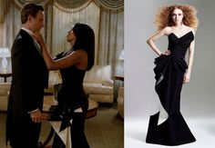 Rubin Singer Olivia Pope Ball Gown Scandal