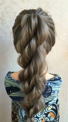 Easy Beautiful Hair Styles Tutorials