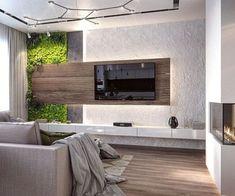 Sheriff Design added a new photo. Tv Cabinet Design, Tv Unit Design, Tv Wall Design, House Design, Home Interior Design, Interior Architecture, Tv Wanddekor, Tv Unit Furniture, Rack Tv