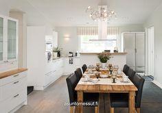 Villa Domus - Ruokailutila @ Asuntomessut Hyvinkäällä 2013