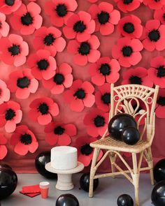 The number 9 post from last year was our paper poppy backdrop and I've loved seeing you make them! Share yours to #larsmakes so we can all take a lookie !