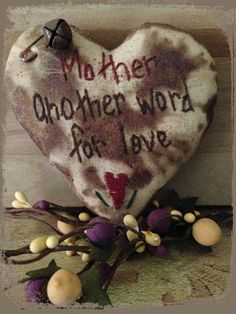 Hey, I found this really awesome Etsy listing at https://www.etsy.com/listing/228647375/mother-another-word-for-love-bowl-filler