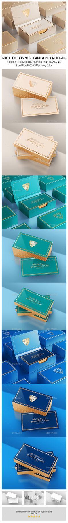 Gold Foil Business Card MockUp — Photoshop PSD #modern #letterpress • Available here → https://graphicriver.net/item/gold-foil-business-card-mockup/18586441?ref=pxcr