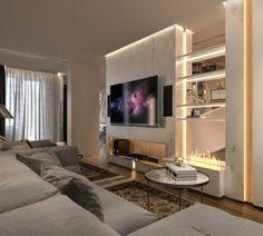 Décoration moderniste dans un appartement très élégant  #appartement #decoration #elegant #moderniste     Dans cet article, nous allons parler d'un appartement très moderne qui a été conçu pour un jeune couple et qui recueille toutes leurs idées et demandes à l'intérieur.  C'est un étage avec un décoration moderniste cela répond aux idées des clients.  Cet étage et son design...