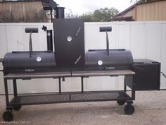 BBQ Smokers   ... made BBQ Pits by JJ ( BBQ pits, grills, smokers, and trailer pits