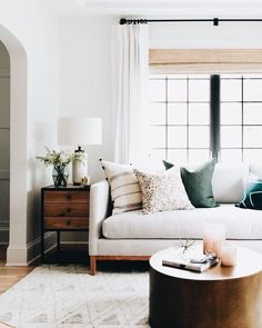 living room - scandi with a touch of colour
