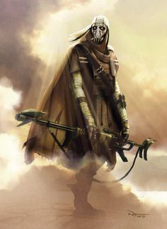 general grievous before being a cyborg.