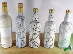 Ideas originales para reciclar botellas de cristal