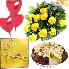 Birthday Celebration : buy flowers online, buy cake online, send flowers, cakes to India