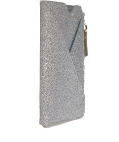 Maison Martin Margiela Silver Glitter Finish Zip Phone Case   Accessories by Maison Martin Margiela   Liberty.co.uk