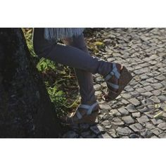 Cleo sandalo donna bianco con zeppa #NAEveganshoes #scarpevegane #veganshoes #scarpedonna #scarpeecologiche #sandalidonna