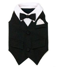 William Dog Tuxedo