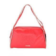 #Bauletto #bag #LOVEMOSCHINO PEBBLE PU (medio) in ecopelle ROSSO. Due manici rifiniti con borchiette in metallo. Portabilità a mano e sottospalla. Chiusura superiore con lampo. Logo esterno impresso e in metallo.  http://modaborse.net/love-moschino/love-moschino-borsa-bauletto-medio-pebble-pu-in-ecopelle-rosso-626.html