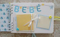Heli Papeles ♥: Libro de Ibai Scrapbook Albums, Scrapbooking, Album Photo, Baby Ideas, Photos, Books, Crafts, Kid Craft Gifts, Photo Books