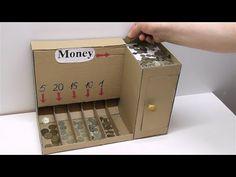 DIY Coin Sorting Machine from Cardboard https://medium.com/@padmaaccessorieslimited/diy-coin-sorting-machine-from-cardboard-c21615702787