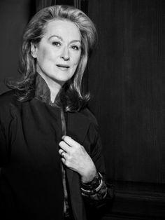 Meryl Streep by Philippe Quaisse
