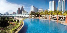 Mandarin Oriental, Kuala Lumpur is located in the city's simmering heart. #Jetsetter