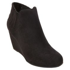 58c0a907f47 Women s dv Stephanie Wedge Booties   Target Wedges