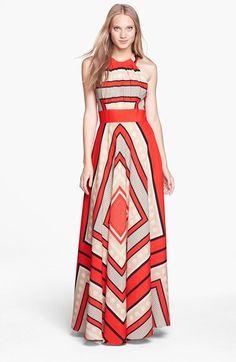Eliza J Scarf Print Woven Maxi Dress (Regular & Petite)  Price  $158.00 by Eliza J