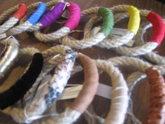 This June buy 2 bracelet bundles and get the 3rd free.Wholesale jewelry rope bracelets, lot of 12 assorted pieces