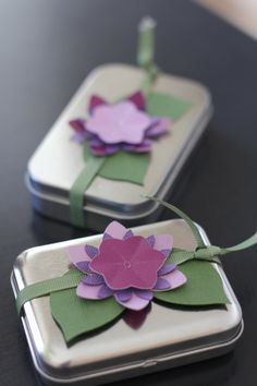 3 Tiered Flower Tag Wraps on Etsy, $14.00