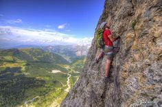Via Ferrata Mesules | Selva / Wolkenstein | Via, Ferrata, Mesules, mëisules, pößnecker, klettersteig, selva, sella, piz miara, piz selva, rifugio boè, val mezdi, colfosco, ciamorces, escursione, trekking, wanderung, dolomites, ladinia, val bad | Val Badia e Alta Badia, escursioni, itinerari, camminare, passeggiate nella natura.