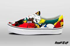 Vans Era (Disney) Mickey&Friends/Mt For Men Sizes: 40 to 45 EUR Price: CHF 115.-  #Vans #Era #Disney #VansMickeyFriends #VansEra #Sneakers #SneakersAddict #PompItUp #PompItUpShop #PompItUpCommunity #Switzerland