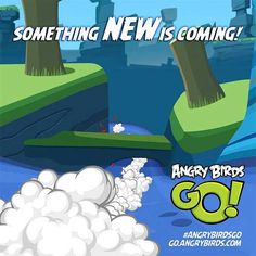 Rovio's New Angry Birds Go! Soon To Be Released