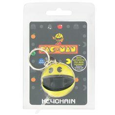 pac man plastic key chain