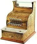 1913 NCR National Brass Cash Register Grocery General Store Antique   eBay