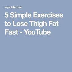 5 Simple exercises to Lose Thigh Fat Fast Along with using fat burning supplements, you can use our fitness and exercise videos and develop a best workout an. Fat Burning Supplements, Weight Loss Supplements, Lose Thigh Fat Fast, Weight Loss Tips, Lose Weight, Danette May, Lose Fat Workout, 10 Minute Workout, Weight Loss Transformation