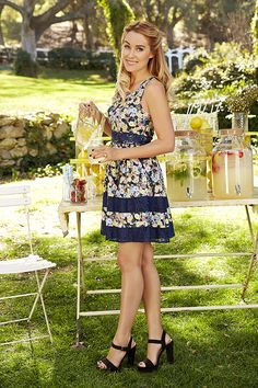 We don't know who's cuter: Lauren Conrad or her floral sundress
