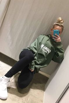 Jordyn Jones' #girlstour olive hoodie  SC: jordynjones11 #jordynjones #actress #model #dancer #singer #designer https://www.jordynonline.com
