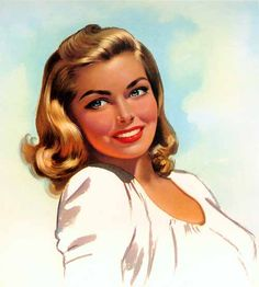 belles images pin-up Pin Up Vintage, Photo Vintage, Vintage Girls, Vintage Beauty, Vintage Art, Pinup Art, Beauty In Art, Vintage Drawing, Nose Art