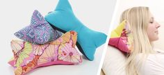 Lesbnochen the thirtieth – Home textiles Sewing Pillows, Diy Pillows, Sewing Crafts, Sewing Projects, Sewing Ideas, Pillow Tutorial, Neck Pillow, Baby Needs, Free Sewing