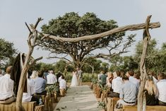 We are so in love with the rustic earthiness in this South African wedding | Image by Megan Ann Photography
