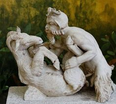 The piece would probably have been humorous to a Roman audience, its sexuality not even all that remarkable because art in ancient Rome was frequently violent, sexual, or sometimes both.