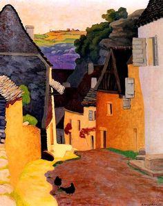 'Rocamadour Landscape' - Félix Vallotton