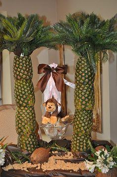 adorable monkey party