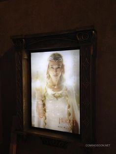 Cartel de El Hobbit, protagonizado por Galadriel y que se verá en la #ComicCon #SDCC