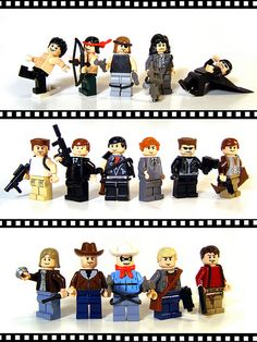Film & TV Characters #lego