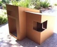 Image result for clubhouse made with cardboard box