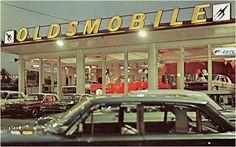 Concessionnaire Oldsmobile 1962 - Vintage Automobile Dealerships and…