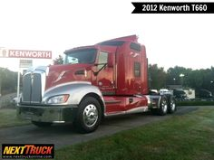 Our featured #truck is a 2012 #Kenworth T660, #Cummins ISX15